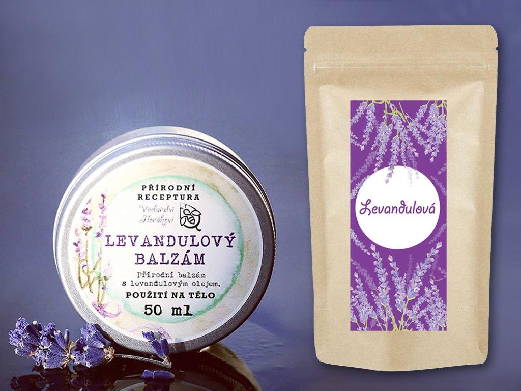 produktová fotka levandulový balíček
