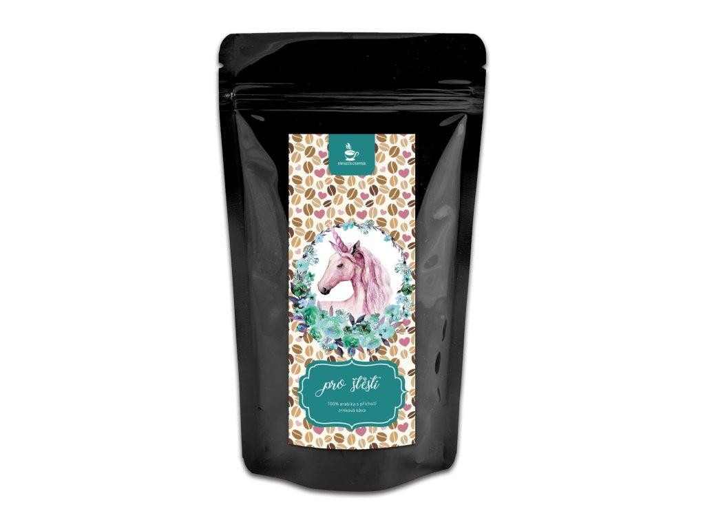 kava jednorožec pro stesti