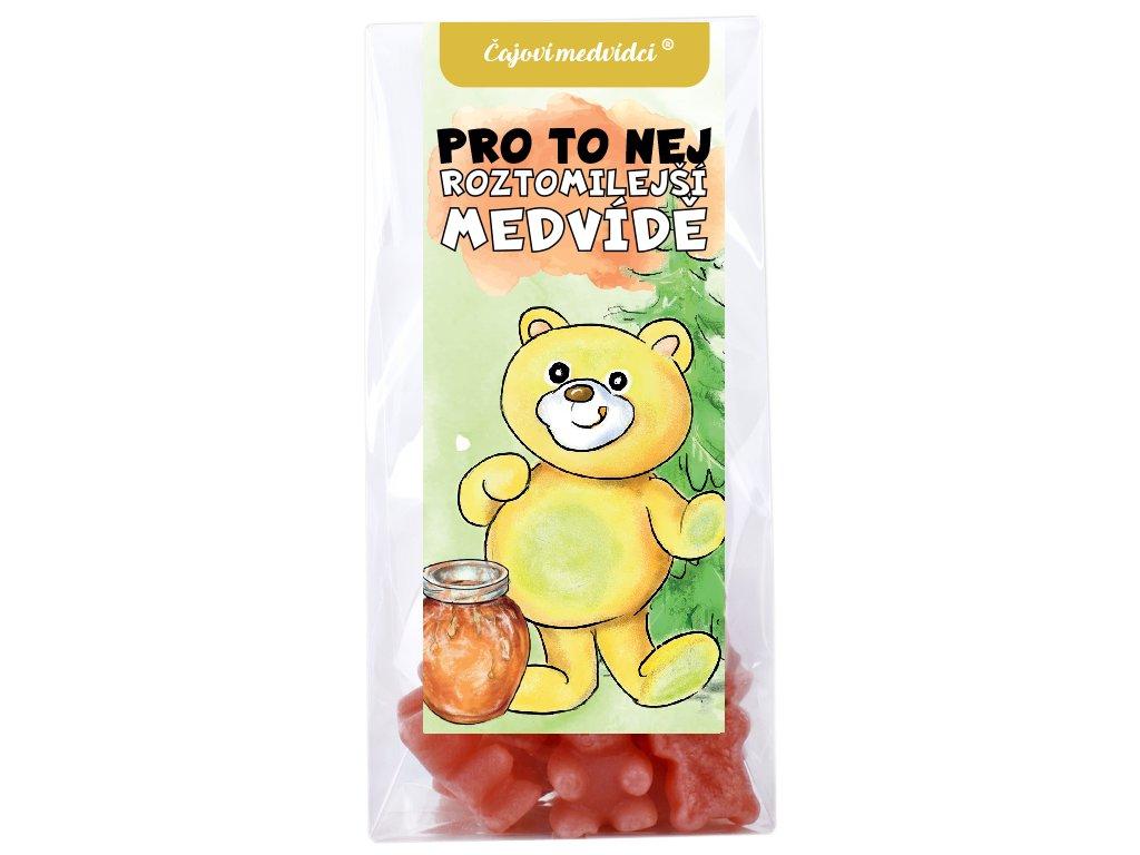 medvidkovy čaj nejroztomilejsi medvide
