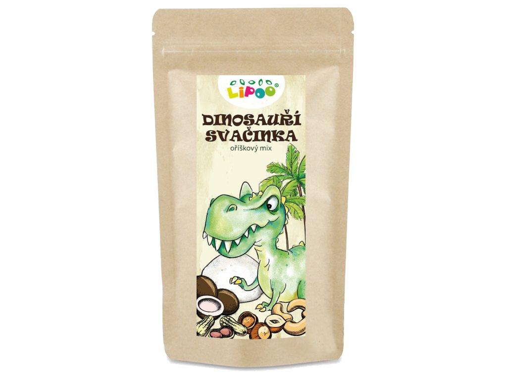zdrave mlsání dinosauri svacinka