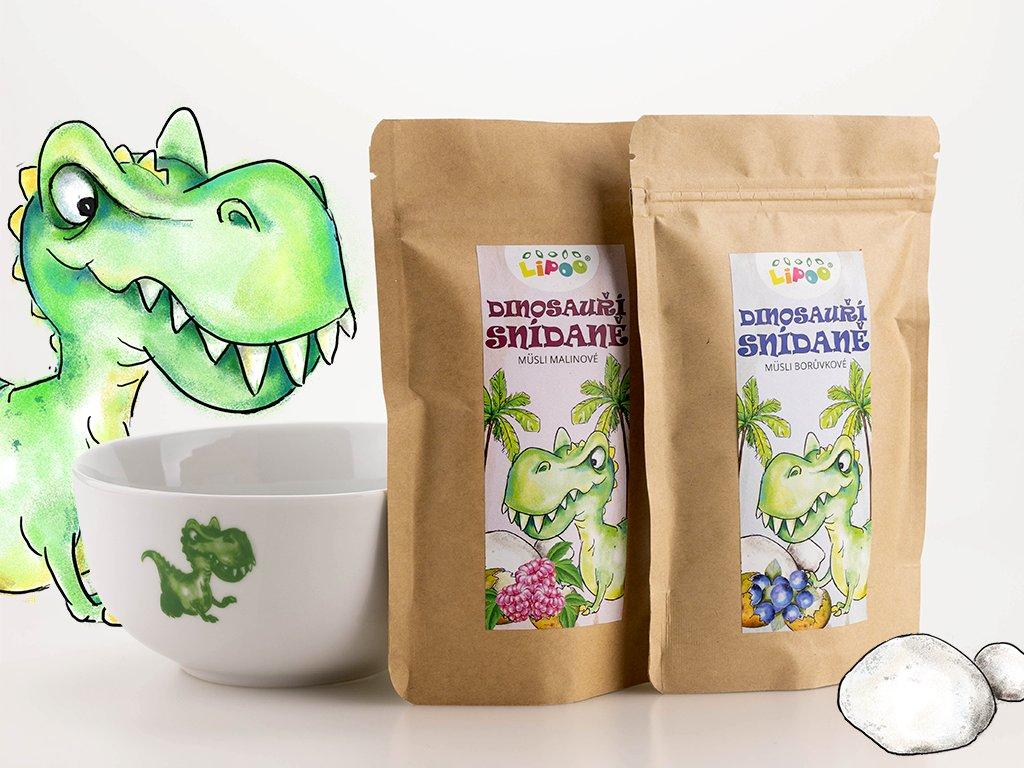 dinosauří snídaně 1