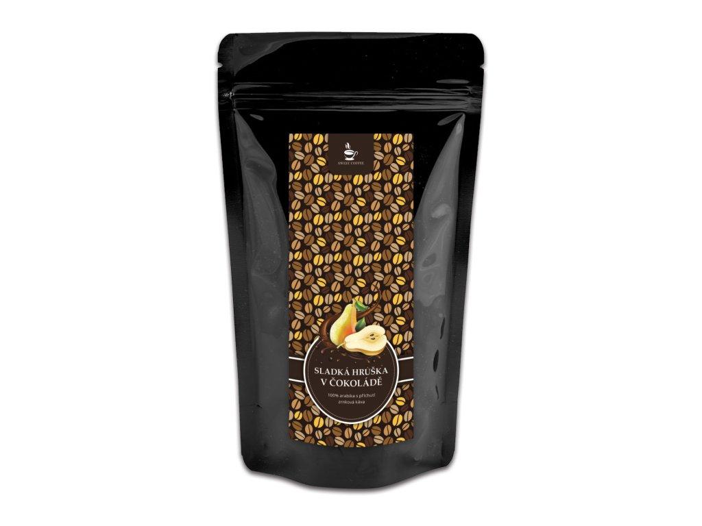 sweetcofee hruska v cokolade