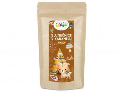 zdravé mlsání slunecnice v karamelu