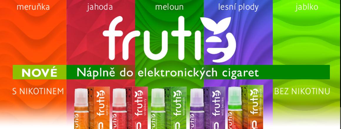 Ovocné příchutě Frutie, autentická chuť