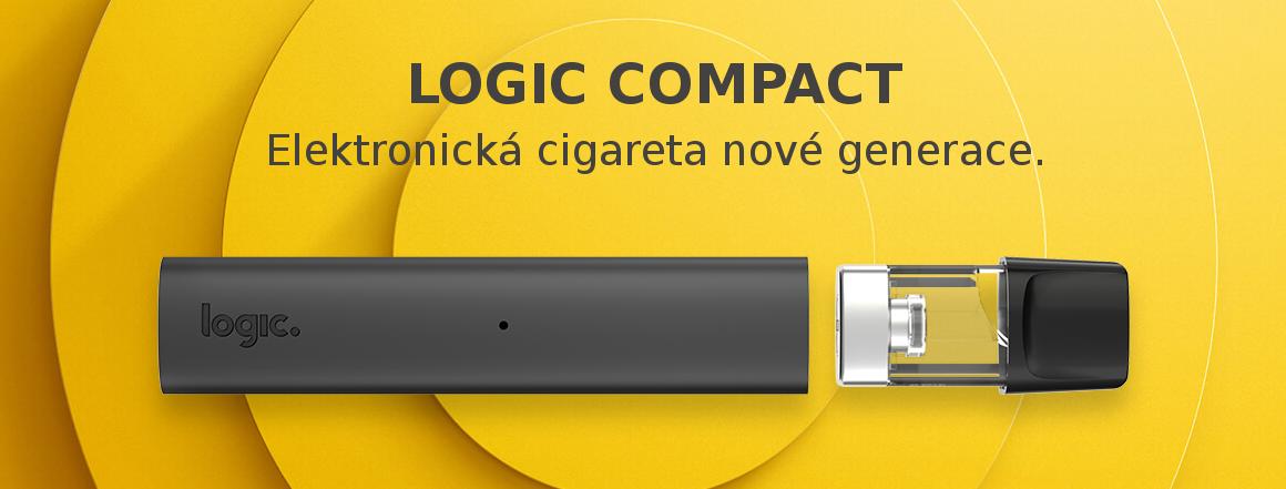 Logic Compact elektronická cigareta s revolučním systémem