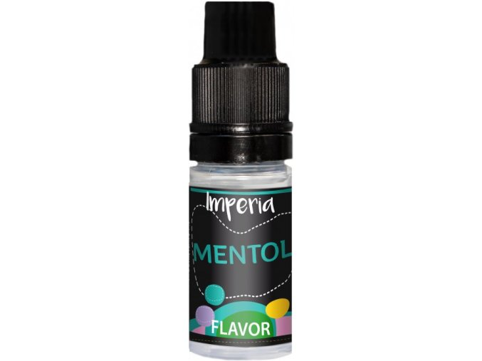 Příchuť IMPERIA Black Label 10ml Menthol (Chladivý Mentol)