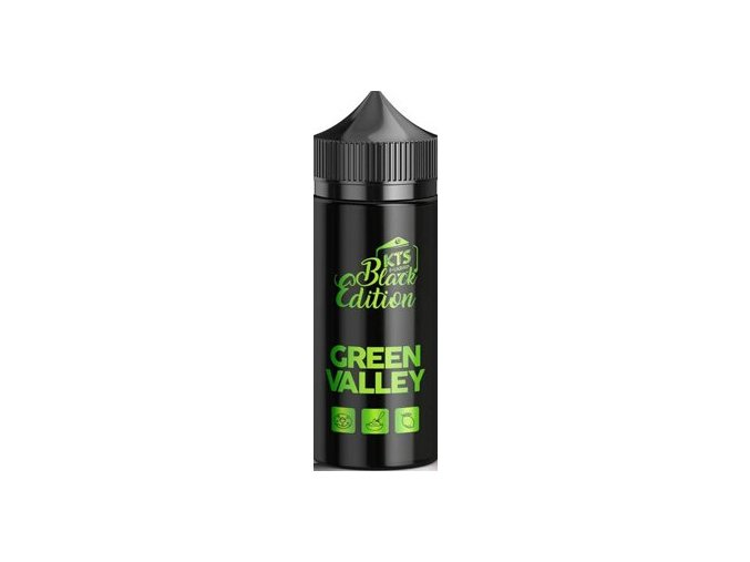 KTS Black Edition Shake and Vape 20ml Green Valley