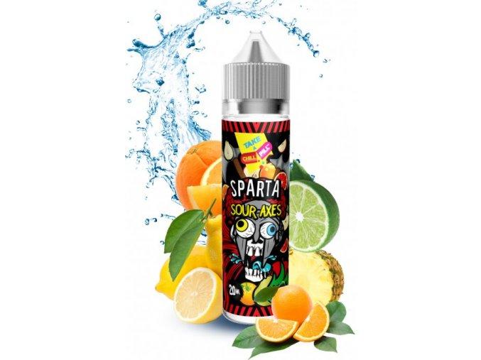 Příchuť Chill Pill Shake & Vape: Sparta (Svěží ovocný mix) 20ml