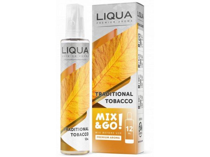 liqua mixgo 12ml traditional tobacco