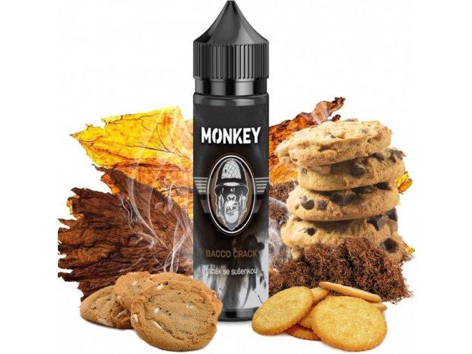 Příchuť MONKEY liquid Shake and Vape Bacco Crack 12ml