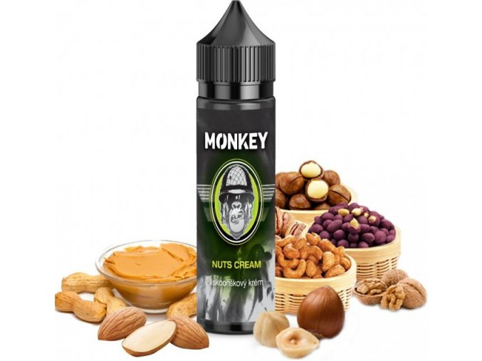 Příchuť MONKEY liquid Shake and Vape Nuts Cream 12ml