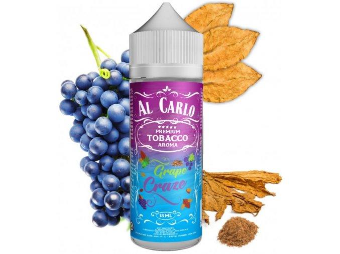 Příchuť Al Carlo Shake and Vape: Grape Craze (Hrozno & tabák) 15ml