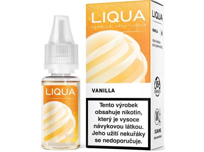 liquid liqua cz elements vanilla 10ml 6mg vanilka