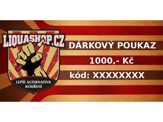 dárkový 1000