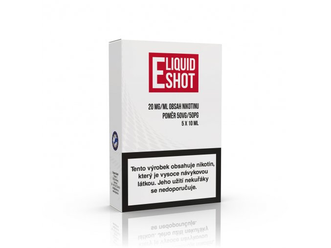 Booster E-Liquid Shot 50PG/50VG 20mg, 5x10ml