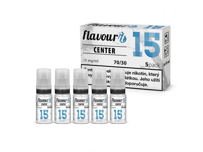 flavourit center 70 30 dripper 15mg 5x10ml
