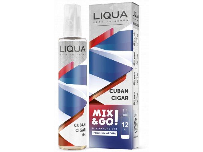 Příchuť Liqua Mix&Go 12ml Cuban Cigar