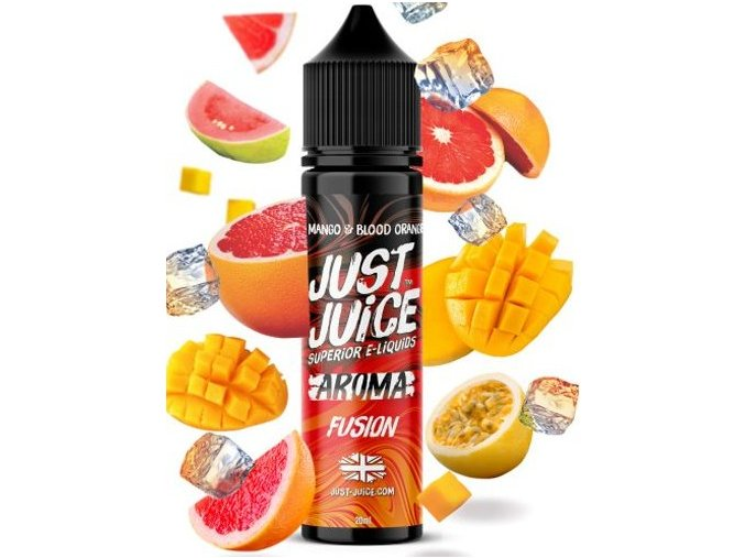 Příchuť Just Juice Fusion - Blood Orange 20ml Shake and Vape