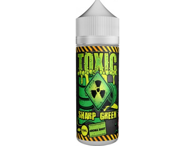 Příchuť TOXIC Shake and Vape 15ml Sharp Green
