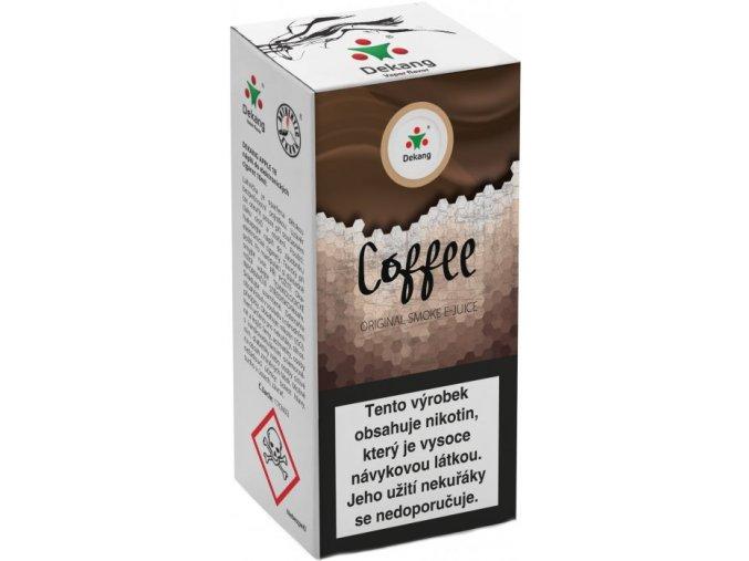 liquid dekang coffee 10ml 16mg kava