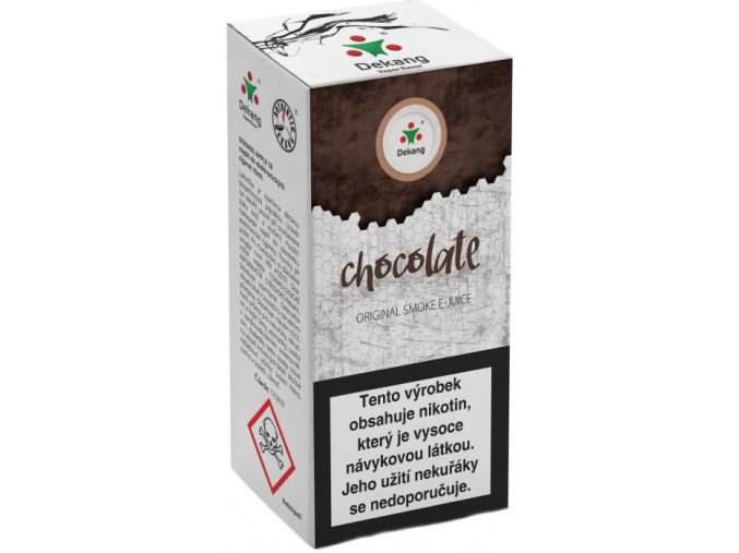 liquid dekang chocolate 10ml 11mg cokolada