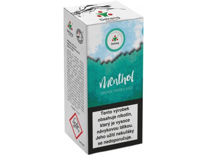 liquid dekang menthol 10ml 11mg mentol