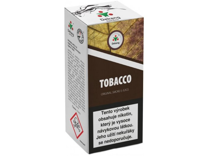 liquid dekang tobacco 10ml 11mg tabak