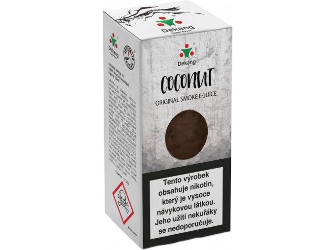 liquid dekang coconut 10ml 16mg kokos