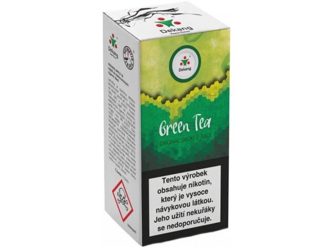 liquid dekang green tea 10ml 16mg zeleny caj