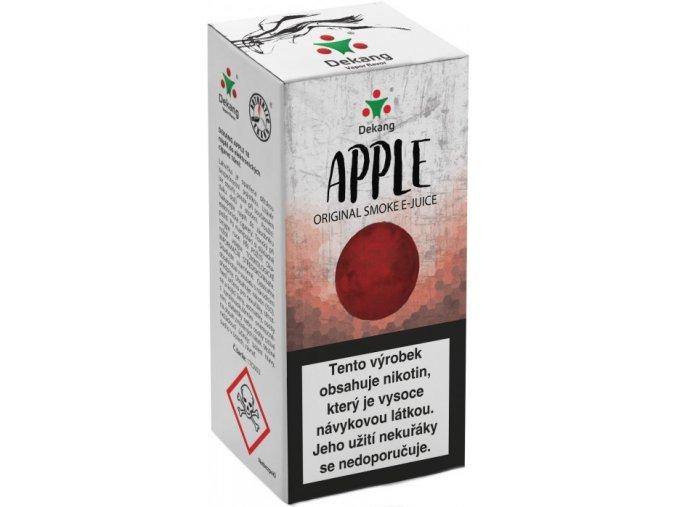liquid dekang apple 10ml 11mg jablko (1)