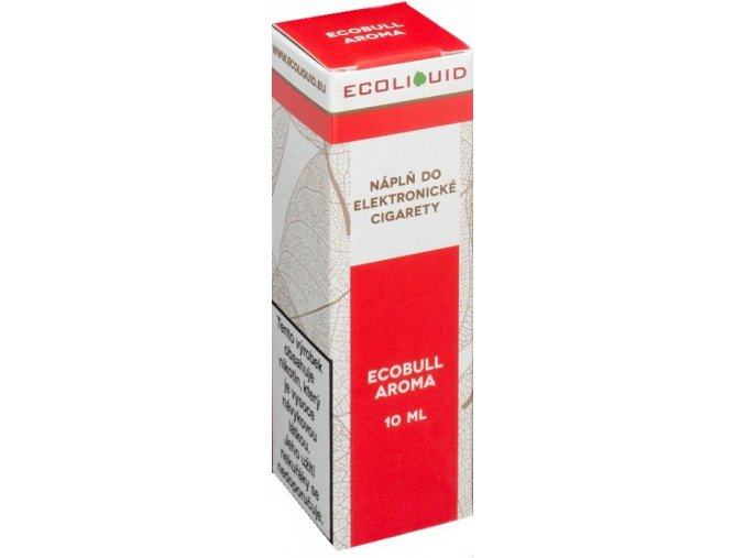 liquid ecoliquid ecobull 10ml 3mg energeticky napoj