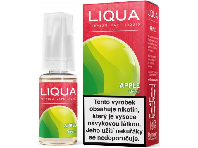 ritchyliqua liquid liqua cz elements apple 10ml3mg jablko (1)