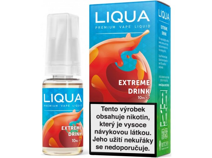 elements extreme drink 10ml12mg energeticky napoj
