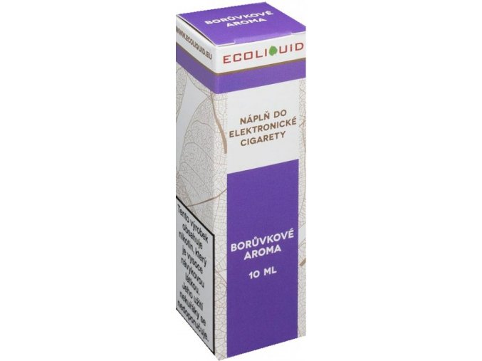 liquid ecoliquid blueberry 10ml 12mg boruvka
