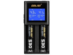 Golisi S2 2.0A - chytrá nabíječka s LCD displejem