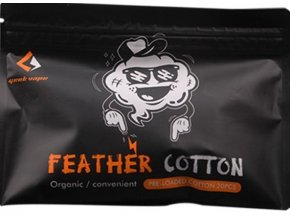 Geekvape Feather Cotton organická vata (20ks)