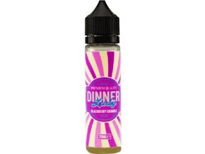 Příchuť Dinner Lady Shake and Vape 20ml Blackberry Crumble