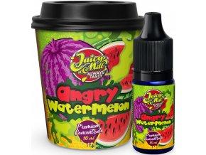 Příchuť Juicy Mill 10ml Angry Watermelon (vodní meloun)