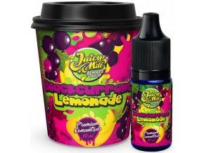 Příchuť Juicy Mill 10ml Blackcurrant Lemonade (rybízová limoáda)