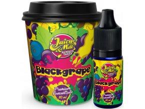 Příchuť Juicy Mill 10ml Blackgrape (hroznový mix)