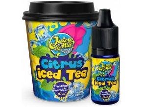 Příchuť Juicy Mill 10ml Citrus Iced Tea (ledový citronový čaj)