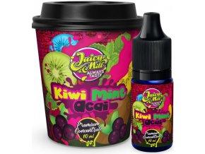 Příchuť Juicy Mill 10ml Kiwi Mint Acai (kiwi s mátou a akai)