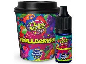 Příchuť Juicy Mill 10ml Trollberries (lesní ovoce)