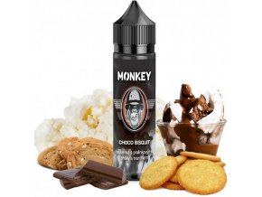 Příchuť MONKEY liquid Shake and Vape Choco Bisquit 12ml