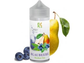 KTS Tea Shake and Vape 30ml Blaubeere (Hruška s borůvkami)