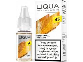 Liquid LIQUA 4S Traditional Tobacco 10ml-20mg