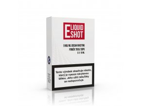 Booster E-Liquid Shot 30PG/70VG 18mg, 5x10ml