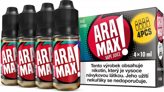 Energy / Drink - Aramax liquid - 4x10ml Obsah nikotinu: 3mg