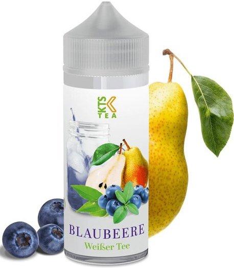 KTS Tea Shake and Vape 30ml Blaubeere (Hruška s borůvkami)