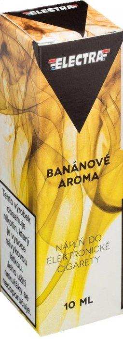 Ecoliquid (CZ) Banán - ELECTRA - český liquid - 10ml Síla nikotinu: 0mg